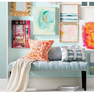Seapine Upholstered Bench ByCharlton Home