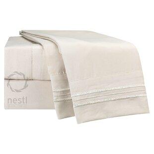 Nestl Bedding Flamingo Microfiber Sheet Set