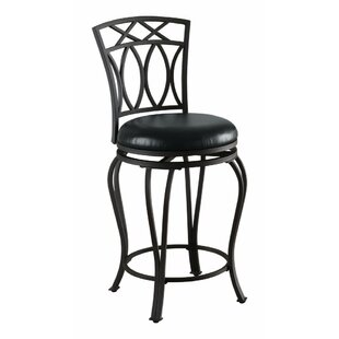 Ramseur 39 Counter Height Swivel Bar Stool by Fleur De Lis Living
