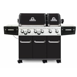Regal XL Pro 6-Burner Gas Grill With Side Burner By Broil King