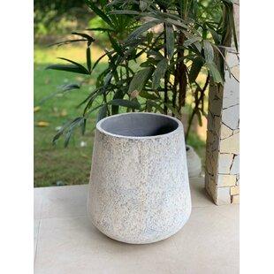 Munroe Concrete Plant Pot By World Menagerie