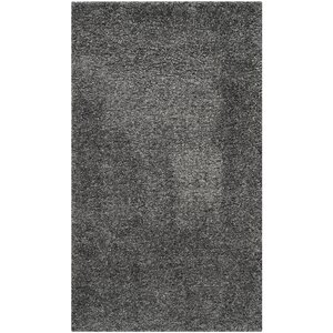 Maya Handmade Dark Gray Area Rug