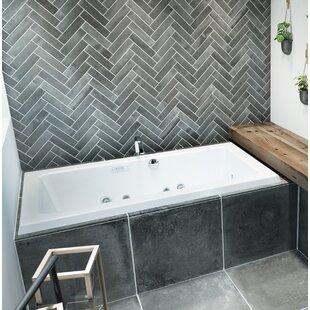 Sia Salon Chroma Right-Hand 72 L x 42 W Drop In Salon Bathtub by Jacuzzi®