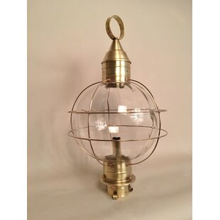 Comparison Onion 1-Light Lantern Head By Brass Traditions