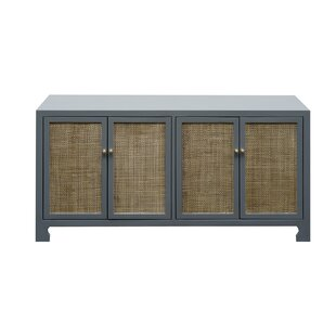 Check Prices 4 Door Accent Cabinet By Worlds Away