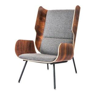 Gus* Modern Elk Wingback Chair