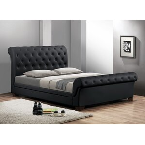 wolfgang queen upholstered sleigh bed