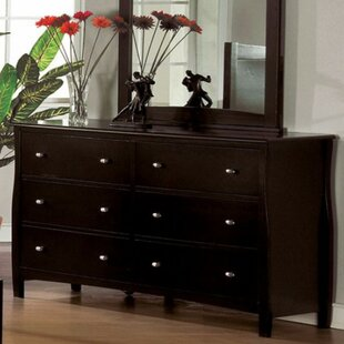 Darby Home Co Darrick 6 Drawer Double Dresser
