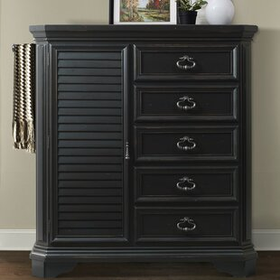 Darby Home Co Eloisee 5 Drawer Gentlemen's Chest