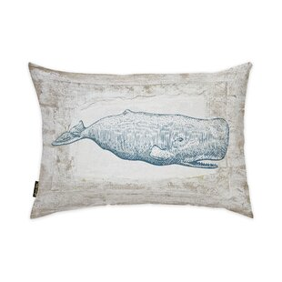Lefler Blue Whale Lumbar Pillow