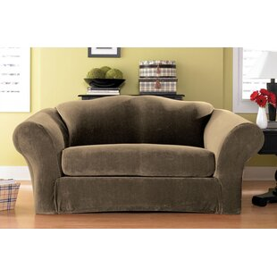 Bargain Stretch Pique Box Cushion Sofa Slipcover by Sure Fit Reviews (2019) & Buyer's Guide