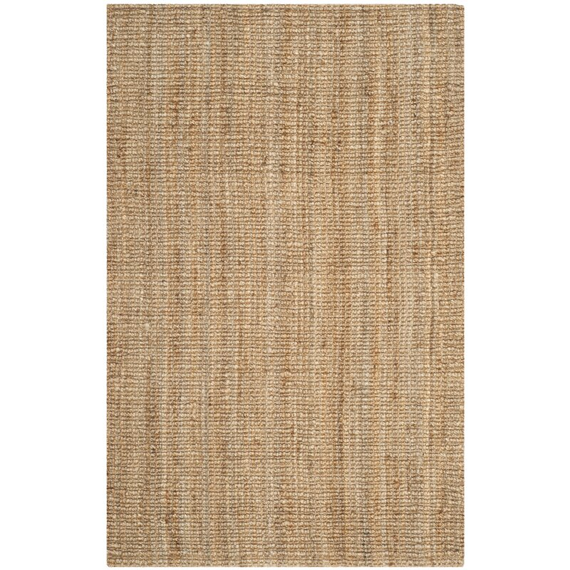 Gaines Power Loomed Natural Area Rug