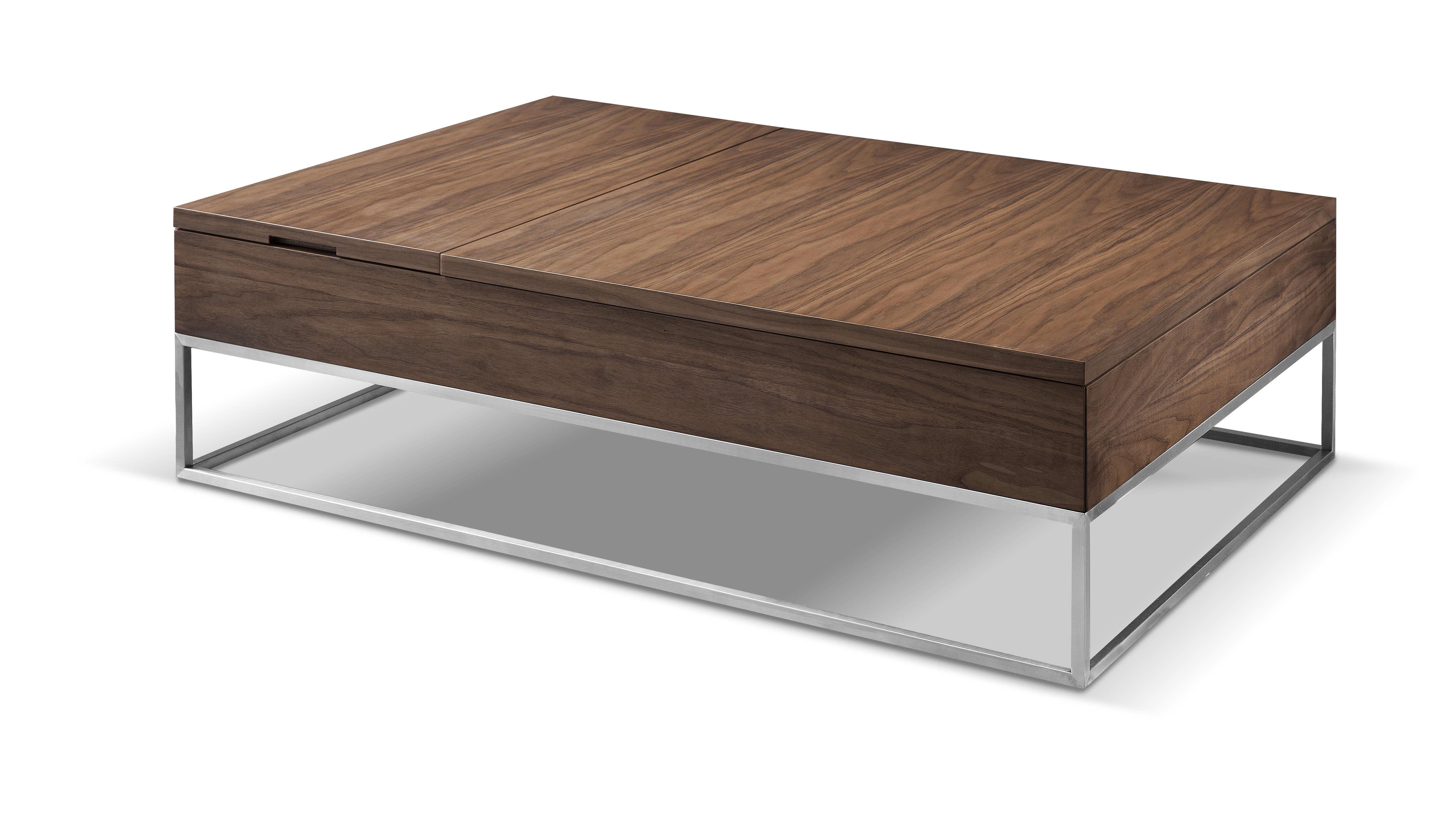 Allmodern Alan Lift Top Coffee Table With Storage Wayfair