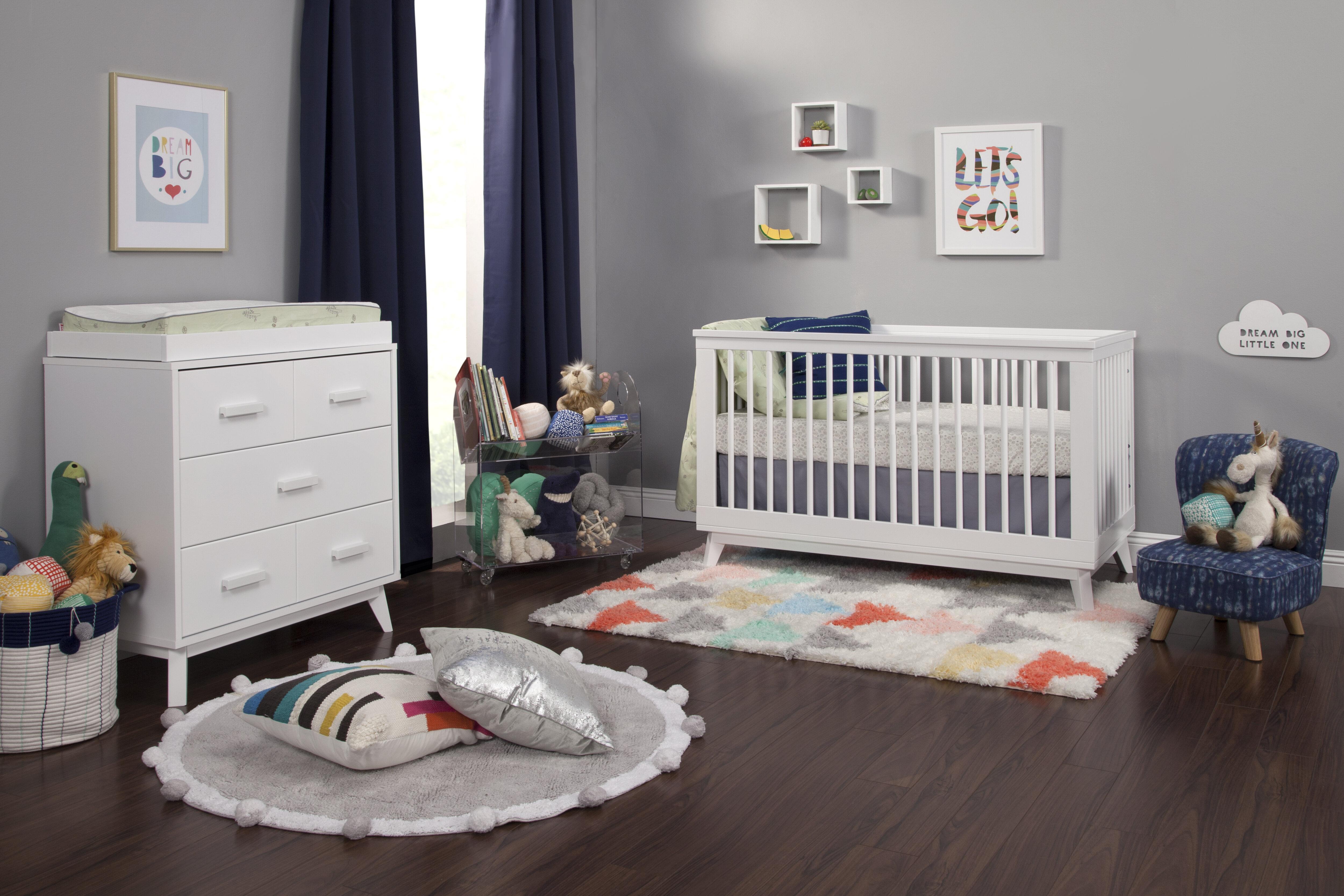 Scoot Convertible Standard 2 Piece Nursery Furniture Set