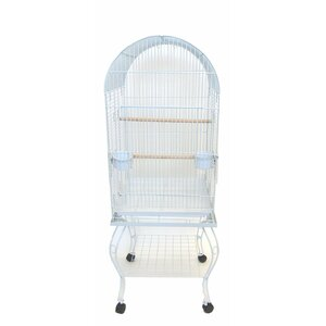 Harlan Dome Top Parrot Bird Cage with Stand