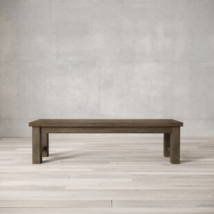 Mccrea Wood Bench by Gracie Oaks