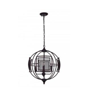 CWI Lighting Alistaire 4-Light Globe Chandelier