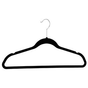 Reviews Velvet Shirt/Slack Non-Slip Hanger (Set of 10) ByOrganize It All
