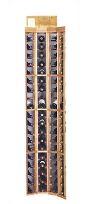 Wine Cellar Innovations Designer Series 72 Bottle Floor Wine Rack Finish: Unstained Premium Redwood