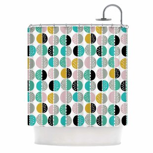 'Carnival Stripe' Single Shower Curtain