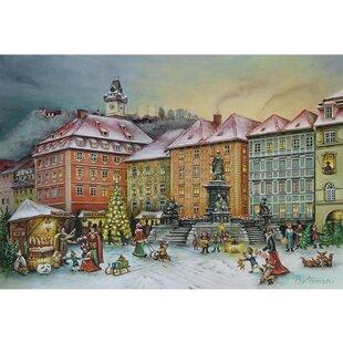 Bruck and Sohn Graz Scene Advent Calendar by The Holiday Aisle