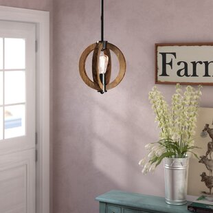 Laurel Foundry Modern Farmhouse Orly 1-Light Globe Pendant
