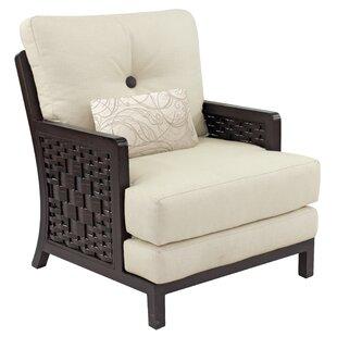 Leona Spanish Bay Patio Chair with Cushion