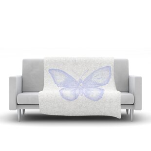Best Reviews Jennifer Rizzo Butterfly Fleece Blanket By East Urban Home