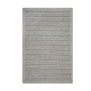 Dix Ultra Durable Braided Opal Gray Indoor/Outdoor Area Rug