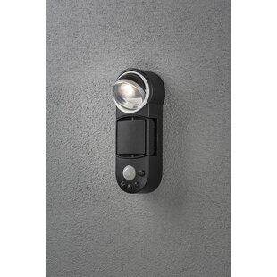 Prato LED Outdoor Bulkhead Light With Motion Sensor By Konstsmide