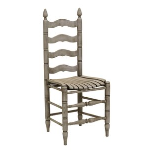 Bensonhurst Solid Wood Dining Chair (Set of 2) August Grove