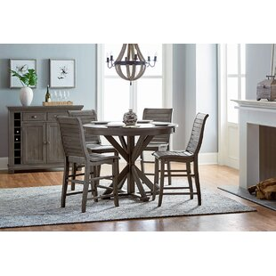 Epine Round Counter Height Dining Table by Lark Manor Reviews