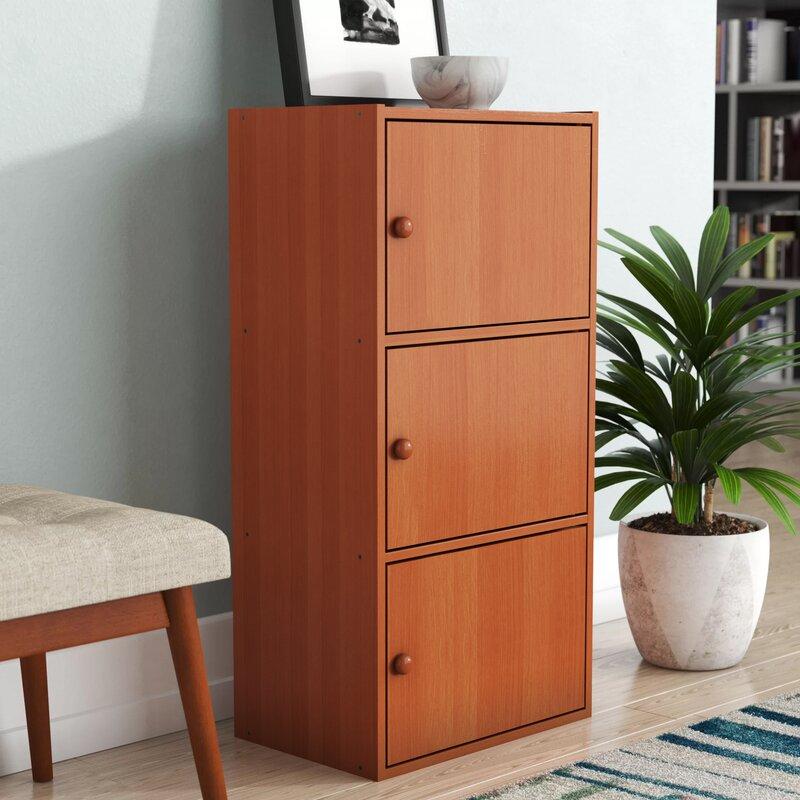 Nobles 3 Door Accent Cabinet by Ebern Designs
