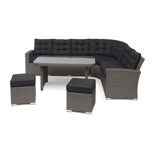 Perth 8 Seater Rattan Corner Sofa Set By Sol 72 Outdoor