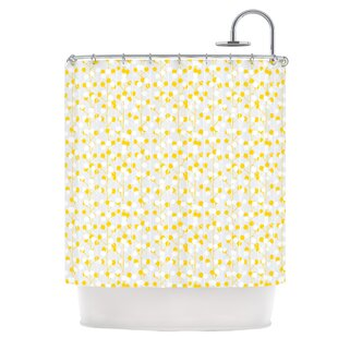Lemon Drop Single Shower Curtain