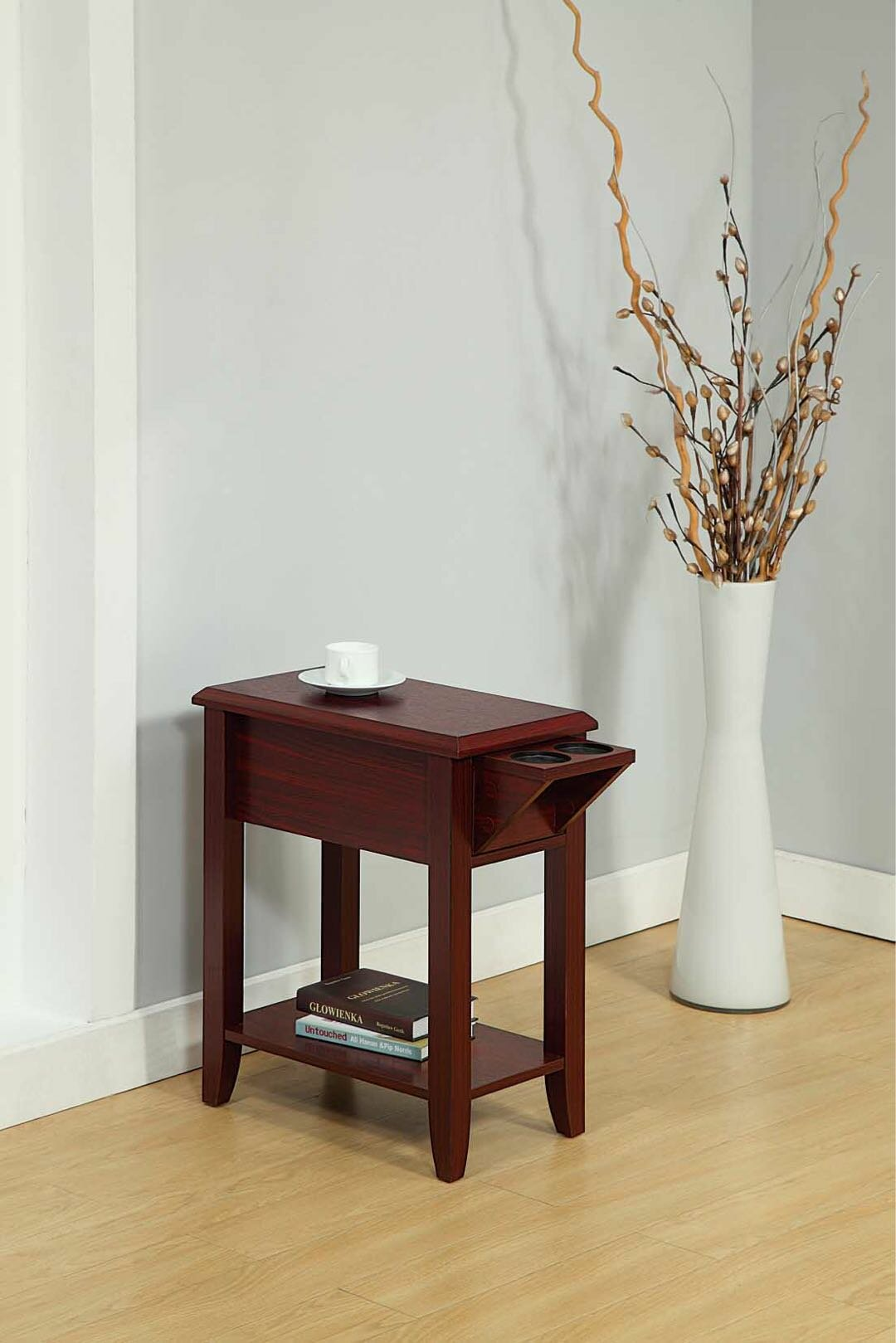 Red Barrel Studio Tollett End Table With Storage Reviews Wayfair