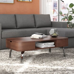 Online Reviews Perla Coffee Table with Storage By Langley Street