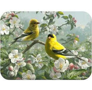 Top Reviews Tuftop Orchard Goldfinch Cutting Board By McGowan