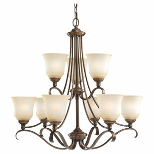 Darby Home Co Culley 9-Light Shaded Chandelier