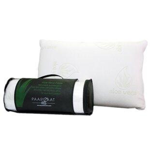 Paarizaat Aloe Vera Memory Foam Standard Pillow
