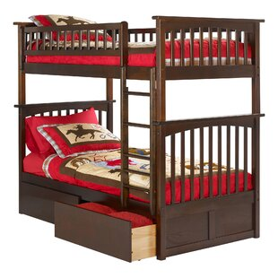 Viv + Rae Henry Twin over Twin Bunk Bed with Drawers
