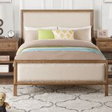 Doyal Upholstered Standard Bed by Darby Home Co