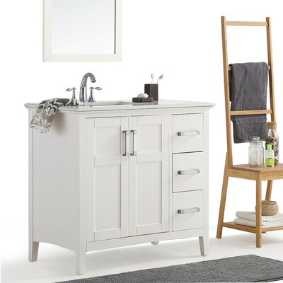 48 In Left Offset Sink Vanity | Wayfair