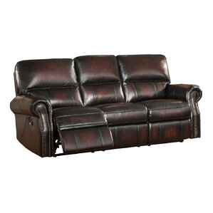Nevada 2 Piece Leather Living Room Set by Amax
