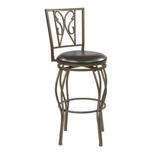 Hanaford 30 Swivel Bar Stool Alcott Hill