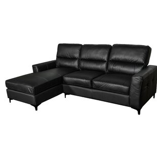 Aldreth Leather Sectional