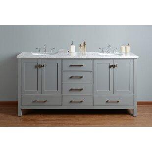 Ankney 72 Double Sink Bathroom Vanity Set by Brayden Studio