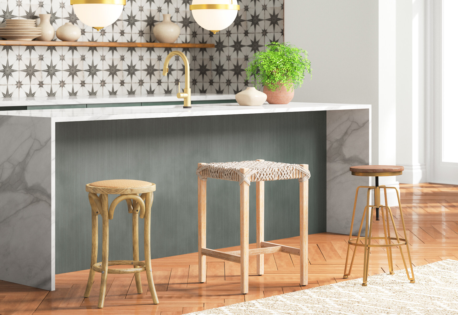 Kitchen Island Decorating Ideas In 3 Easy Steps Joss Main