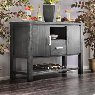 Aiden Transitional Buffet Table Gracie Oaks