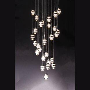 Orren Ellis Stanfield 11-Light LED Pendant